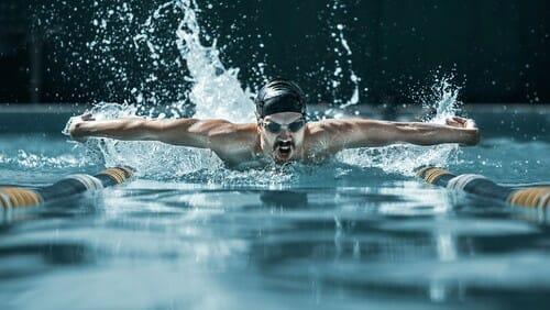 plavanie dynamika vytrvalost